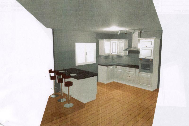 La cuisine notre maison kerbea for Construire maison kerbea